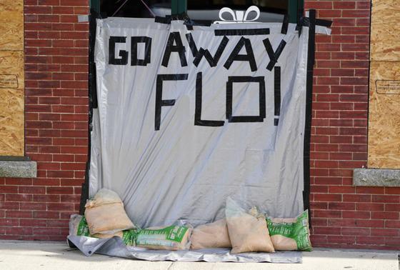 Carolina Braces for Florence Storm Surge