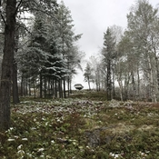 Fresh snowfall in September