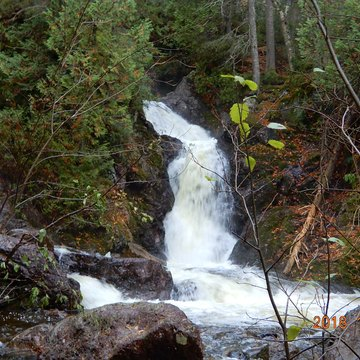 Falls along the searchmont highway