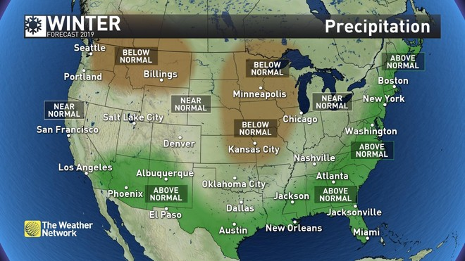 News - 2019 forecast update: Winter locks in for next two ...