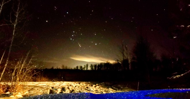 First look at Comet 46P/Wirtanen Leslieville, AB