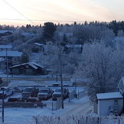 A Frosty morning in Red Lake onto.
