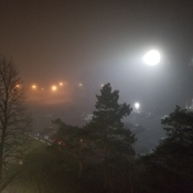 Fog in Chatham at 10:25pm