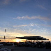 Saskatchewan Sunset Costco Gas Bar