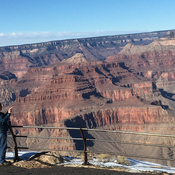 A beautiful day at the Grand Canyon