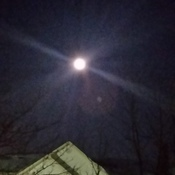 Super Snow Moon Feb 18