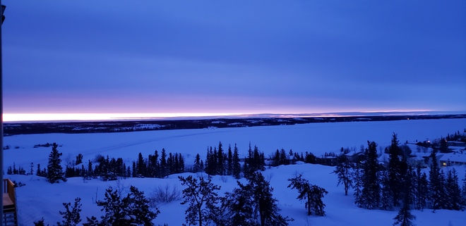 A new day start Yellowknife, NT