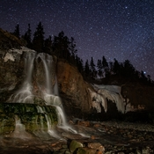 Port George Waterfall At Night II