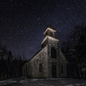 Old Church Under The Stars