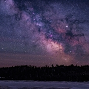 Milky Way Over Gariloch Lake