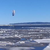 wind surfing and icebreaking