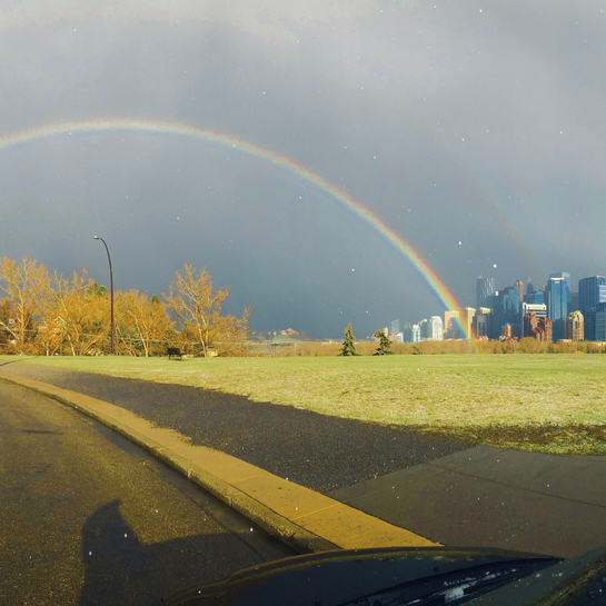 Rainbow from Rosedale