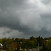 Storm Passing Over Orillia At 3.50pm