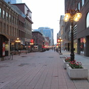Sparks Street in Ottawa at Dusk