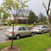 Possible Tornado at Redbury street Hamilton, Ontario.