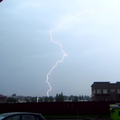 Lightning Over Grande Prairie