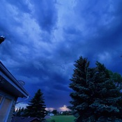 Night Storm Clouds