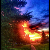 Another fabulous Alberta Sunset