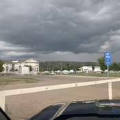 Storm Rolling Into Fort McMurray