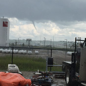 June 25th funnel cloud