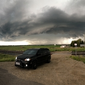 Amazing Cloud south of Carstairs, Alberta