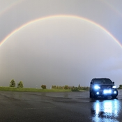 Double Rainbow - Pano picture