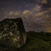 Fireflies at Peggys Cove
