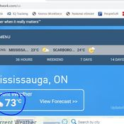 73C in Mississauga - Error