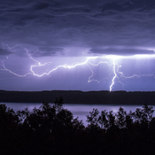Lightning and Manitou Beach Sask