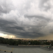 Edmonton storm looking south July 15,2019