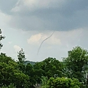 Funnel Cloud Hwy 400 Barrie, Ontario