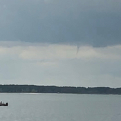 Small funnel cloud spotted