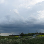 Storm from Sherwood park July 17 2019