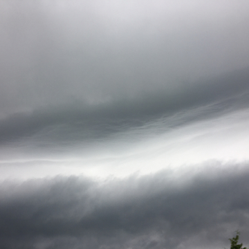 Interesting clouds jn Sudbury