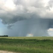 Another pic of Crazy Manitoba weather!