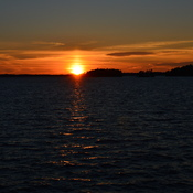 Sunset Over Lake Muskoka