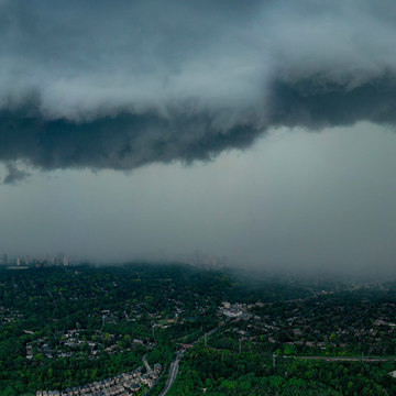 Storm coming to Toronto