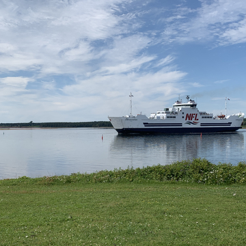 Northumberland Ferry leaving PEI