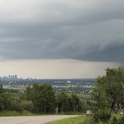 Calgary's Saturday Afternoon Thunderstorm