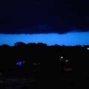 Storm clould from last night