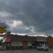 Tim Hortons Weather Over Windsor