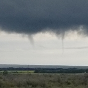 Twin tornados Meadow Lake Sk