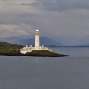 The lighthouse on Eilean Musdile