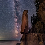 Balancing Rock and Milky Way III