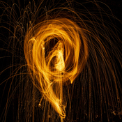 Steel Wool On Fire