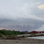 Port Morien Storm Cloud