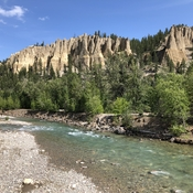 Hoodoos near Dutch Creek