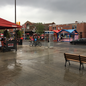 It's wet weekend at Byward Market Ottawa