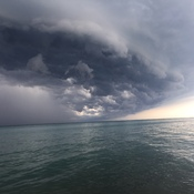 Lake Huron Thunderstorm - Bayfield, Ontario