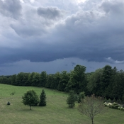 Shelf cloud Elmwood Ontario.